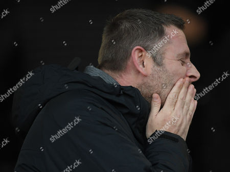 Stock Picture of Peterborough United Chairman Darragh MacAnthony
