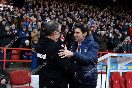 Editorial photo of Nottingham Forest v Leeds United, EFL Sky Bet Championship, Football, The City Ground, City, UK - 01 Jan 2019