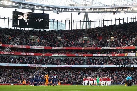 Editorial picture of Arsenal v Fulham, Premier League, Football, Emirates Stadium, London, UK - 01 Jan 2019