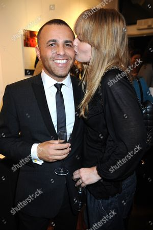 Lorenzo Agius and wife