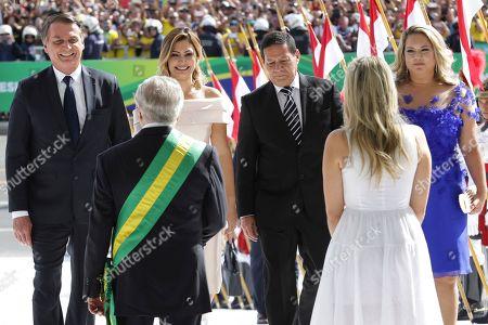 Editorial picture of Bolsonaro Inauguration, Brasilia, Brazil - 01 Jan 2019