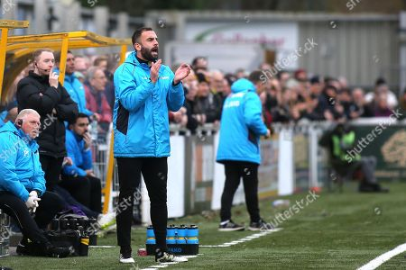 Stock Picture of Maidstone United's Assistant Caretaker Manager, Simon Walton during Maidstone United vs Dover Athletic, Vanarama National League Football at the Gallagher Stadium on 1st January 2019