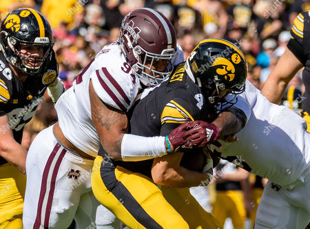 Editorial image of NCAA Football Outback Bowl Mississippi State vs Iowa, Tampa, USA - 01 Jan 2019