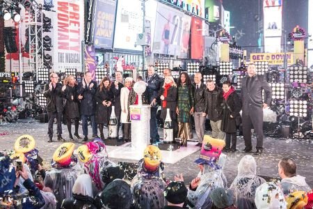 Editorial image of 2018 New Year's Eve Times Square Performances, New York, USA - 31 Dec 2018