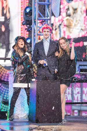Editorial photo of 2018 New Year's Eve Times Square Performances, New York, USA - 31 Dec 2018