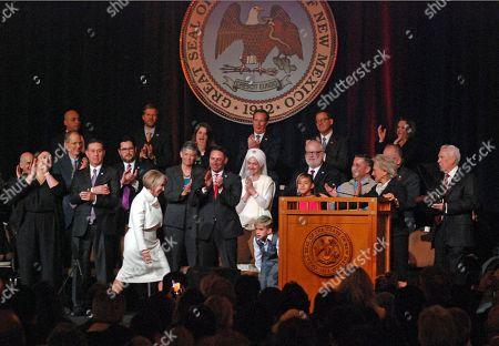 Editorial image of Governor Inauguration New Mexico, Santa Fe, USA - 01 Jan 2019