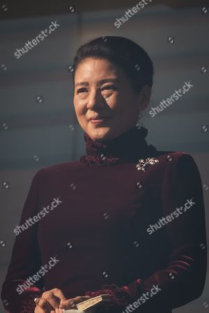 The Crown Princess Masako attends a public appearance to well-wishers on the balcony of the Imperial Palace to celebrate the new year