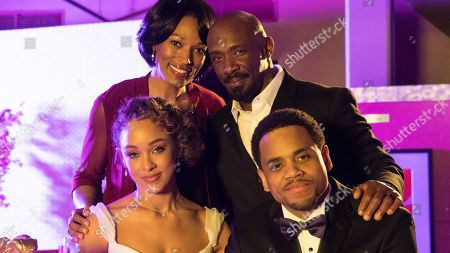Kron Moore as Gloria, Shaun Baker as David, Chaley Rose as Angela and Tristan Wilds as Chris