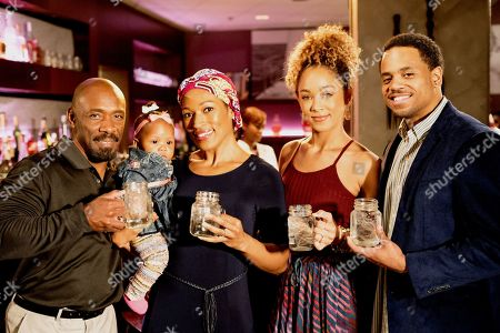 Shaun Baker as David, Kron Moore as Gloria, Chaley Rose as Angela and Tristan Wilds as Chris