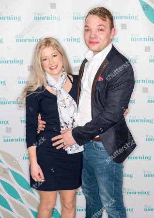 Stock Photo of Paul Edwards and Sarah Elliott