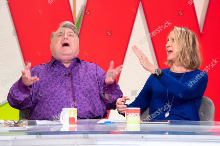 Russell Grant and Carol McGiffin