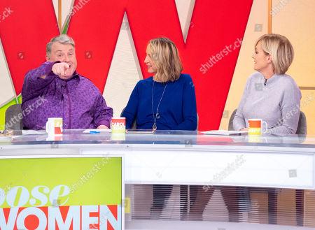 Russell Grant, Carol Vorderman and Jane Moore