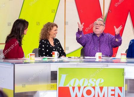 Andrea McLean, Nadia Sawalha and Russell Grant