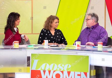 Andrea McLean, Nadia Sawalha, Russell Grant