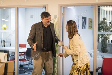Julian Barratt as Nigel and Catherine Shepherd as Sally