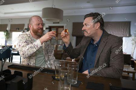 Steve Oram as Mick and Julian Barratt as Nigel