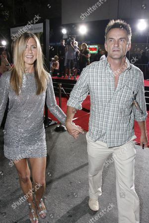 Jennifer Aniston and Publicist Stephen Huvane