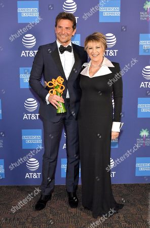 Bradley Cooper, Director of the Year Award Winner and Lorna Luft