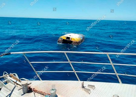 """Stock Photo of This, photo supplied by South Australia Police shows the upturned sloop Wild Eyes that was found drifting off the Australian coast on Dec. 31, 2018. Californian solo sailor Abby Sunderland says her """"heart skipped a beat"""" with news that the yacht she abandoned in the remote Indian Ocean in 2010 during an ill-fated round-the-world attempt has been found off the Australian coast"""