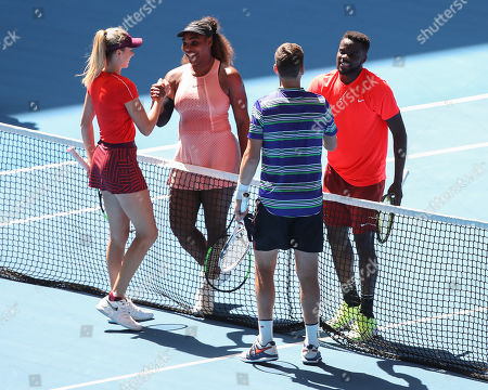 Editorial picture of Hopman Cup, Day 6, Perth, Australia - 03 Jan 2019