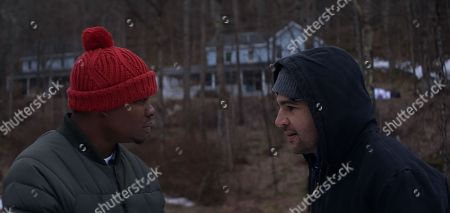 Jason Mitchell as Tyler and Christopher Abbott as Johnny