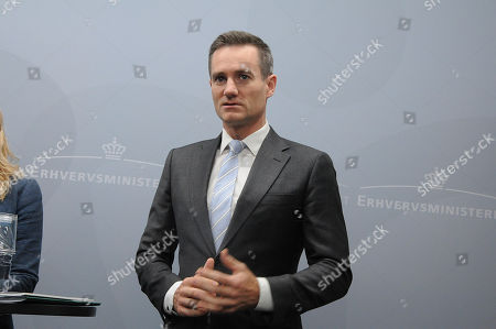Stock Picture of Rasmus Jarlov, Minister for Trade and Business