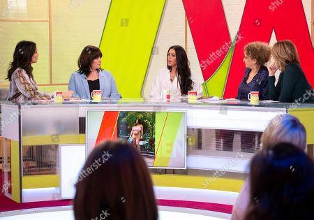Editorial photo of 'Loose Women' TV show, London, UK - 03 Jan 2019