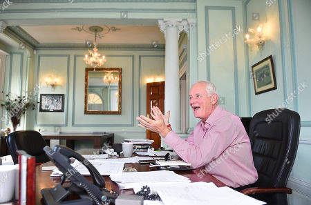 Promoter Barry Hearn At His Matchroom Headquarters In London.