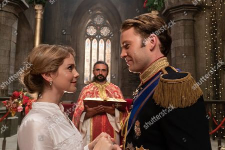 Stock Image of Rose McIver as Melissa and Ben Lamb as The Prince