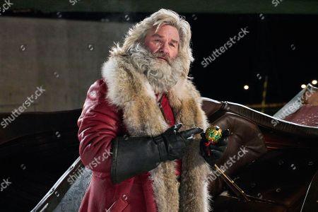 Stock Image of Kurt Russell as Santa Claus