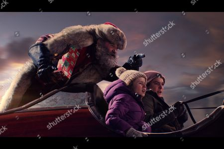 Editorial image of 'The Christmas Chronicles' Film - 2018