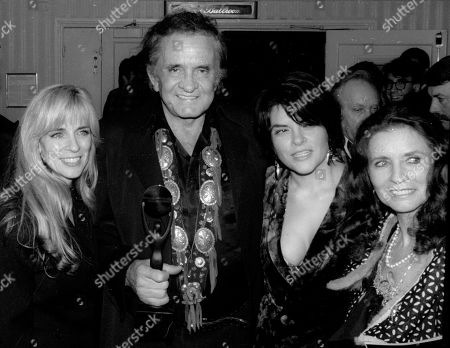Carlene Carter Johnny Cash Tara Cash and June Carter Cash USA New York City