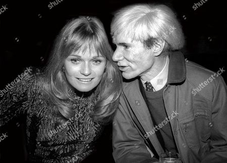 Valerie Perrine and Andy Warhol USA New York City
