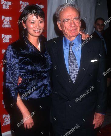Rupert Murdoch and Wendy Deng USA New York City