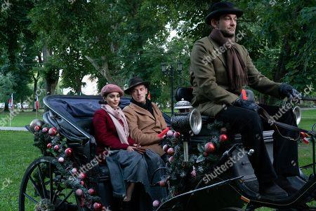 Vanessa Hudgens as Stacy De Novo/Lady Margaret and Sam Palladio as Edward