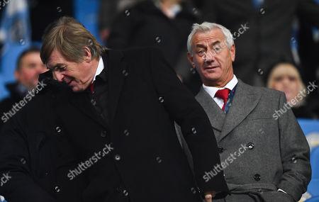 Former Liverpool players Kenny Dalglish and Ian Rush