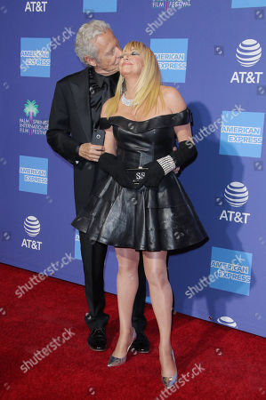 Stock Photo of Alan Hamel and Suzanne Somers