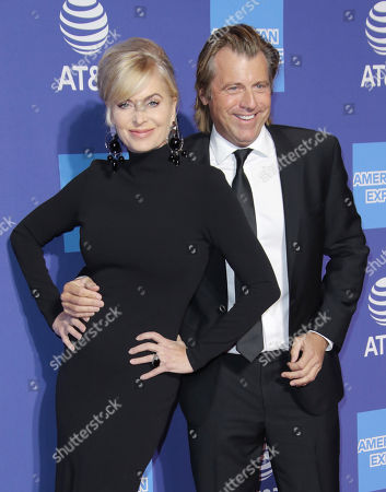 Stock Picture of Eileen Davidson and husband Vincent Van Patten
