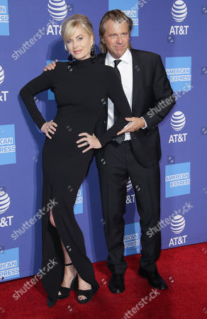 Eileen Davidson and husband Vincent Van Patten