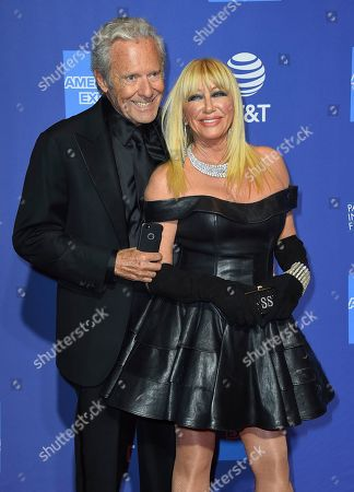 Suzanne Somers, Alan Hamel. Alan Hamel, left, and Suzanne Somers arrive at the 30th annual Palm Springs International Film Festival, in Palm Springs, Calif