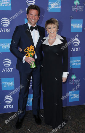 Bradley Cooper and Lorna Luft