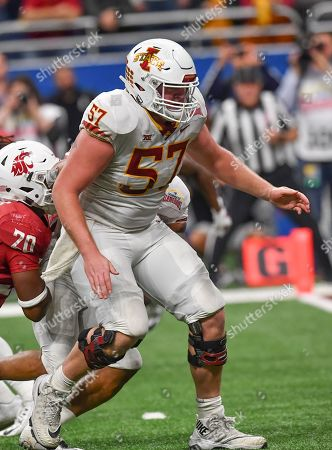 Editorial picture of NCAA Football 2018: Iowa State vs Washington State, San Antonio, USA - 28 Dec 2018