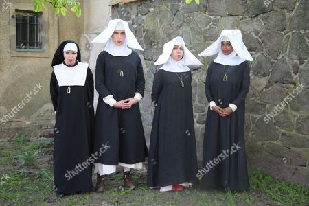 Kembra Pfahler as Sister Kembra, Grete Gehrke as Sister Grete, Viva Ruiz as Sister Dagmar and Caprice Crawford as Sister Barbara