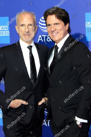US choreographer John DeLuca (L) and US director Rob Marshall arrive for the 30th Palm Springs International Film Festival, in Palm Springs, California, USA, 03 January 2019. The PS Film Festival honors actors in eleven categories at its awards gala.