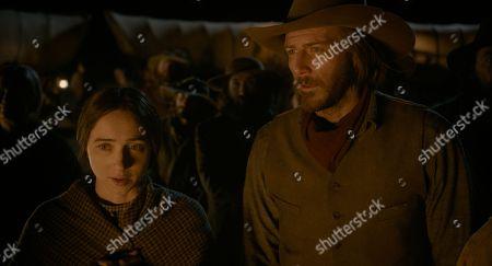 Zoe Kazan as Alice Longabaugh and Bill Heck as Billy Knapp