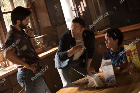 Stephen Schneider as Ron, Travis Knight Director and Jason Drucker as Otis
