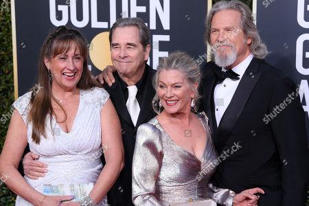 Wendy Treece Bridges, Beau Bridges, Susan Bridges and Jeff Bridges