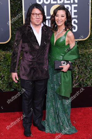 Stock Image of Kevin Kwan and Michelle Yeoh