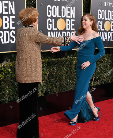 Carol Burnett and Amy Adams