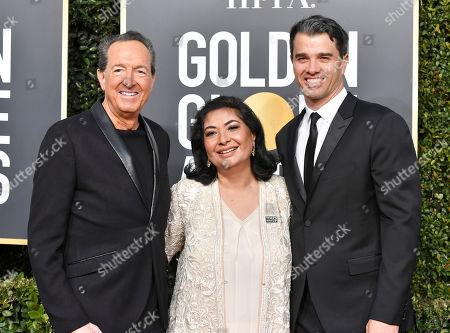 Stock Photo of Barry Adelman, Meher Tatna and Mike Mahan